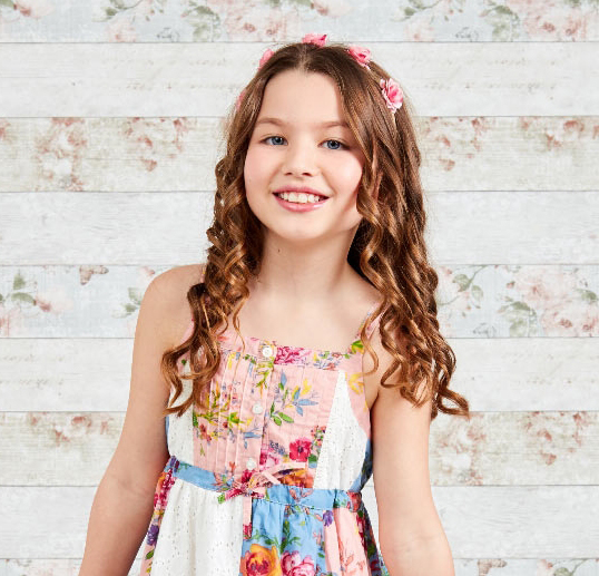 Girls Butterfly Dress By Domino Girl Tie Back With Sequins Ages 2 Years-8 Years